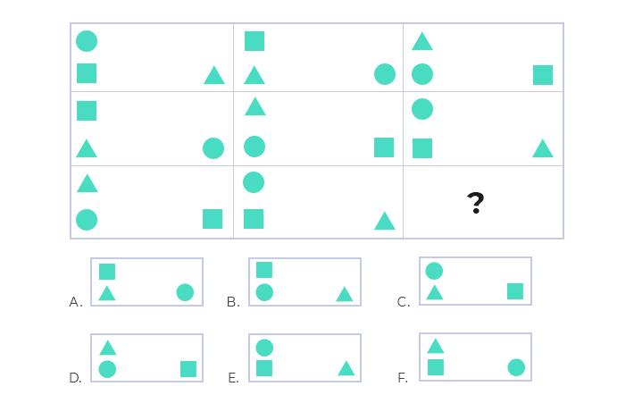 matrigma example question 4